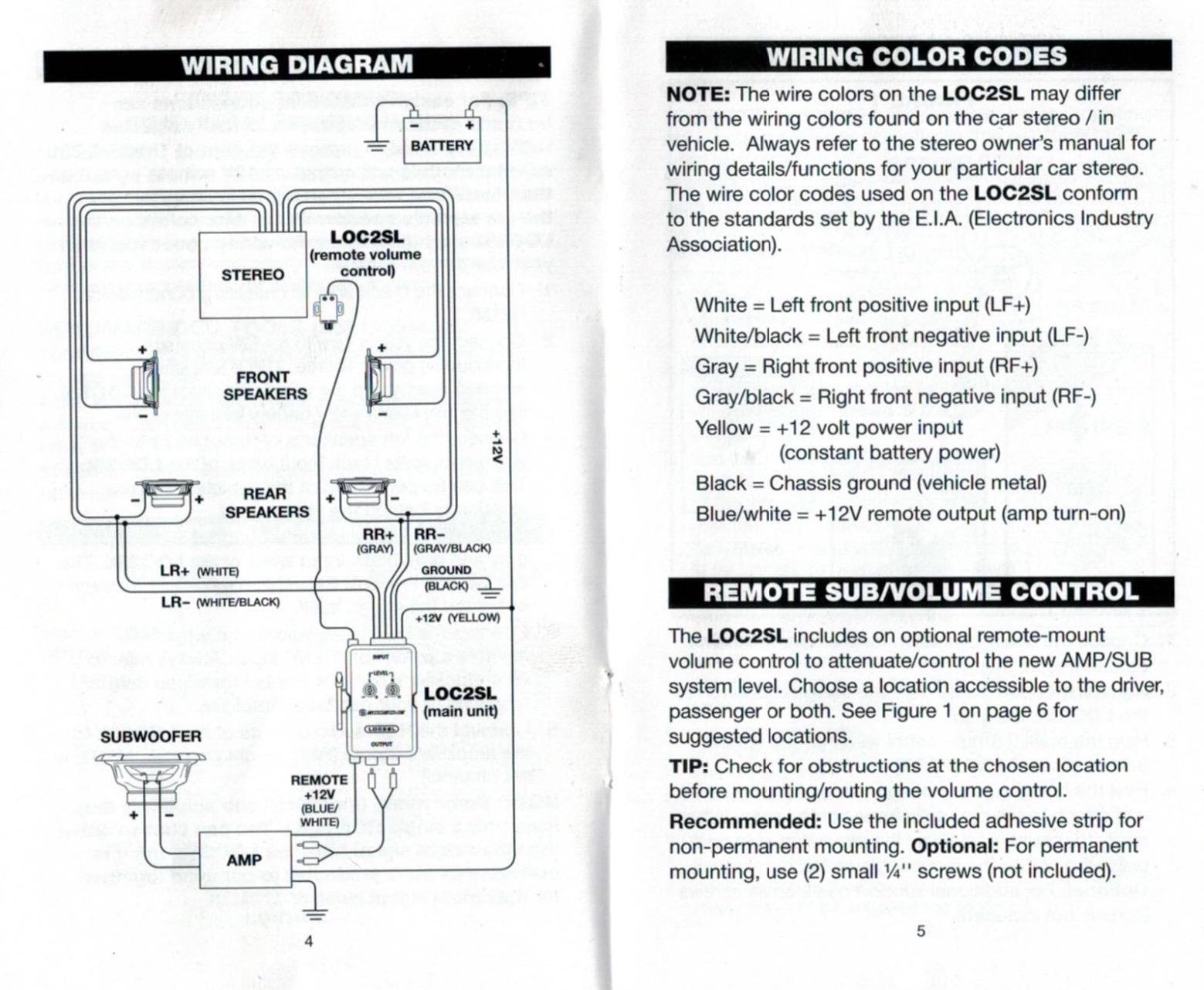 Scosche Loc2Sl Color Diagram - Wiring Diagram Blog - Scosche Loc2Sl Wiring Diagram
