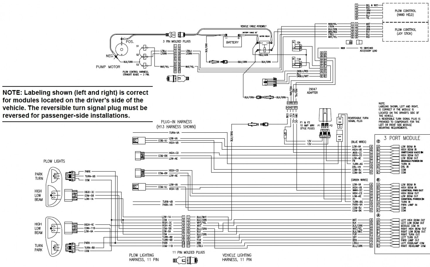 Seven Pin Wiring Diagram Western Plow | Wiring Diagram - Western Plow Solenoid Wiring Diagram