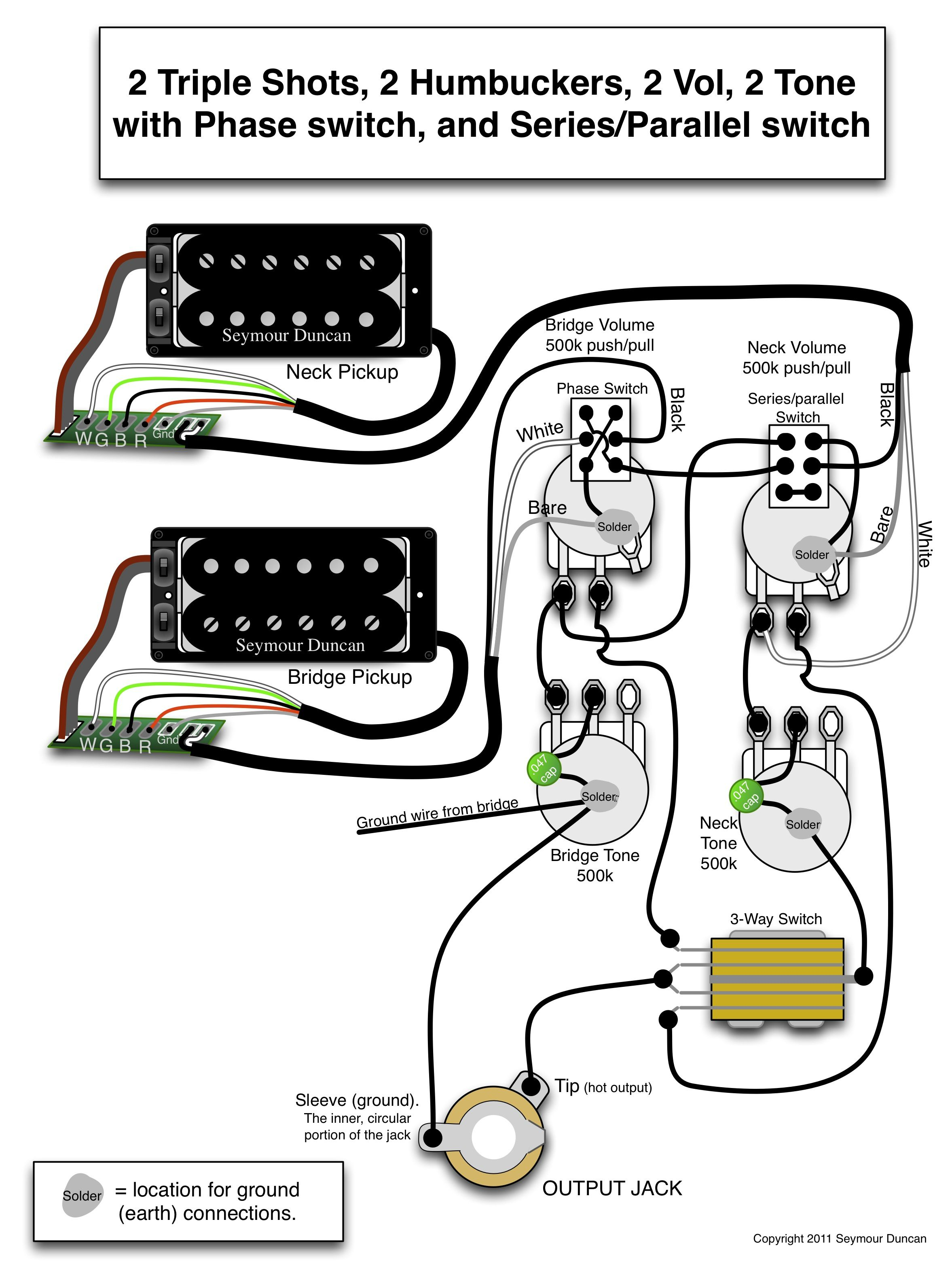 Active Pickup Wiring - Wiring Diagrams Hubs