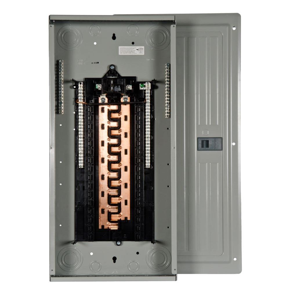 Siemens Pl Series 100 Amp 30-Space 30-Circuit Main Breaker Indoor - Siemens Load Center Wiring Diagram