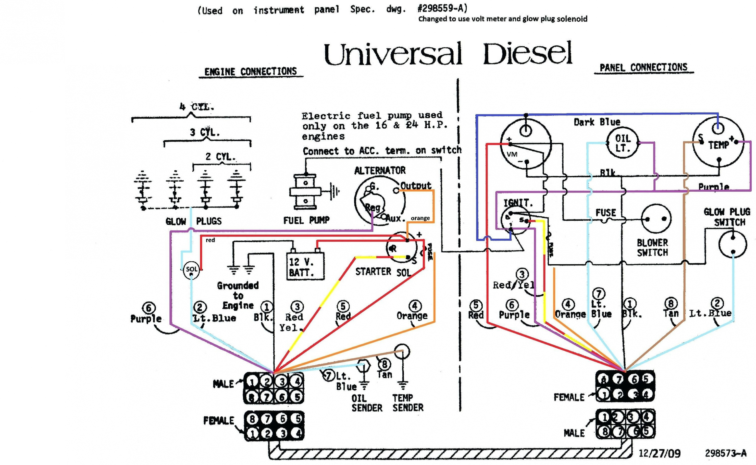 Simple Alternator Wiring Diagram