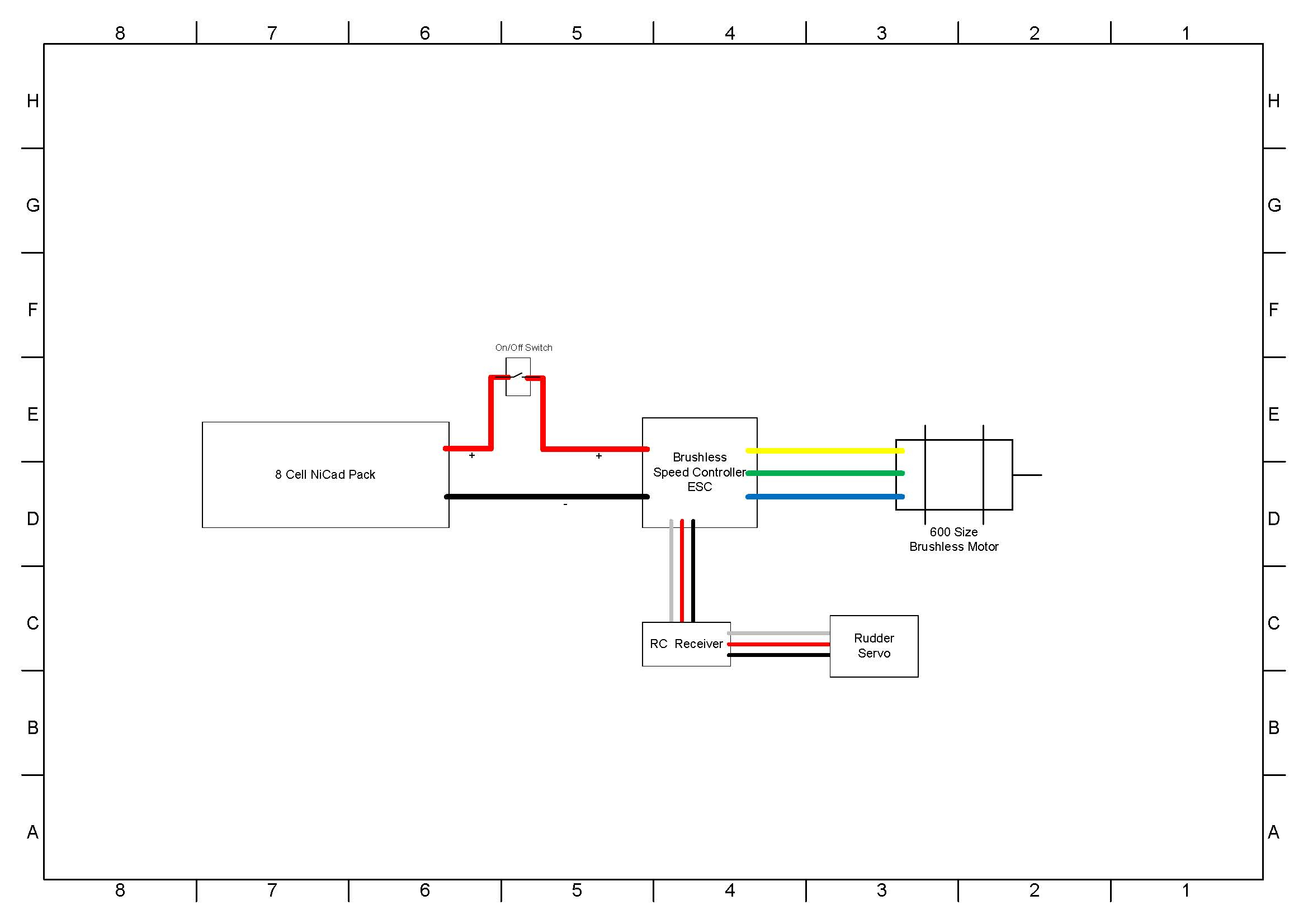 Simple Wiring Diagram | Manual E-Books - Simple Wiring Diagram