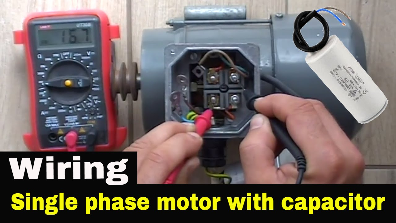 Single Phase Capacitor Start Motor Wiring | Wiring Diagram - Single Phase Motor Wiring Diagram With Capacitor Start