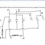 Single Phase Motor Reverse And Forward Connection   Youtube   Reversing Single Phase Motor Wiring Diagram