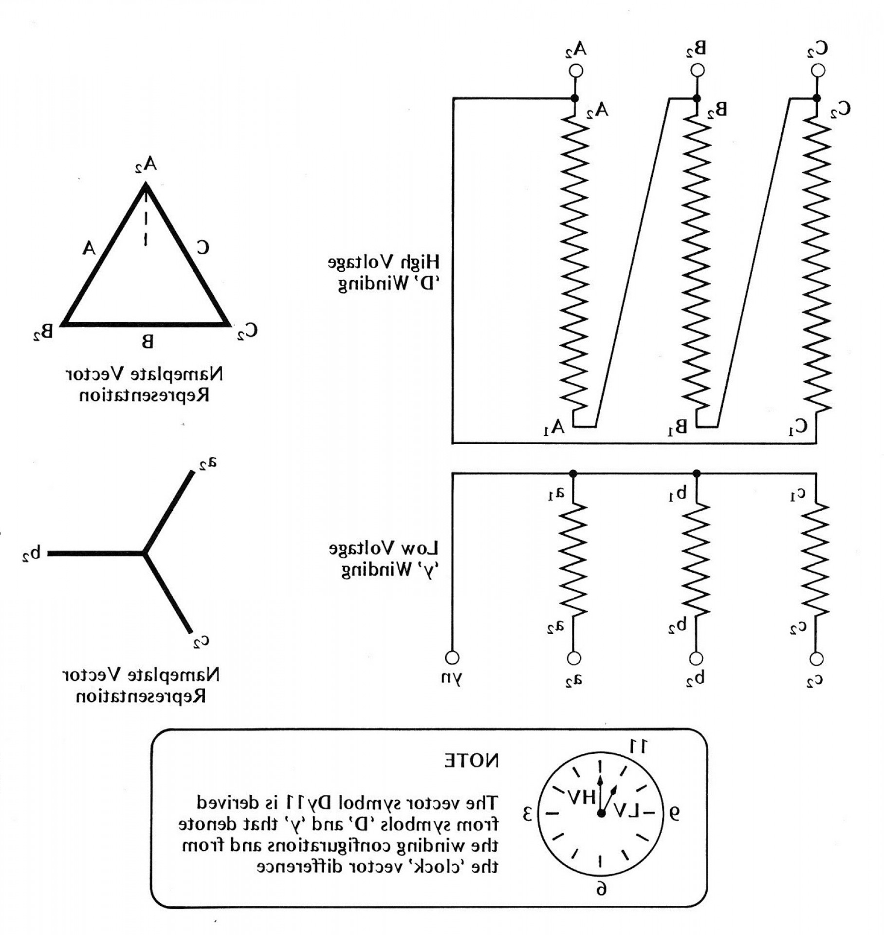 Single Phase Transformer Wiring Diagram Symbols For Three Phase - 3 Phase Transformer Wiring Diagram