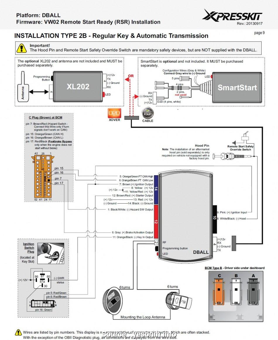 Smart Remote Starter Diagram - Wiring Diagram Data - Remote Starter Wiring Diagram