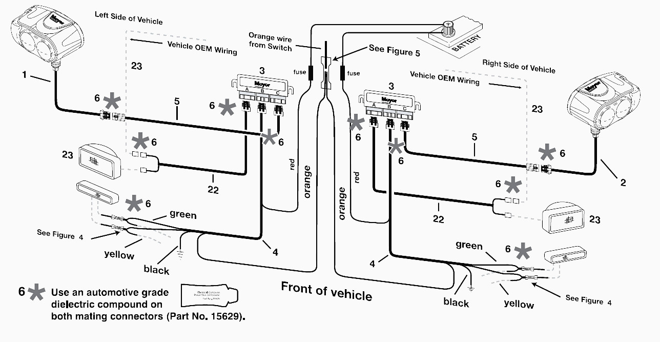 Snoway Wiring Diagram | Wiring Library - Meyer Plow Wiring Diagram