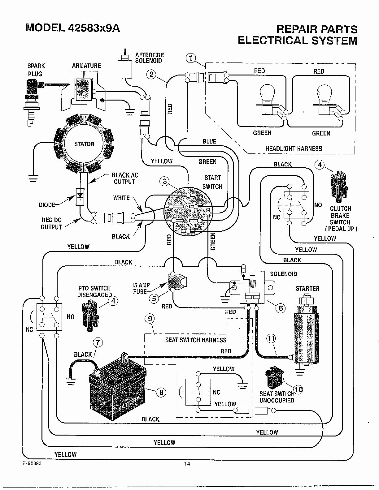 Solenoid For Murray Riding Mower Wiring Diagram   Wiring Diagram - Wiring Diagram For Murray Riding Lawn Mower