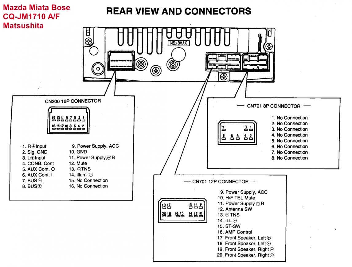 Diagram Sony Xplod Deck Wiring