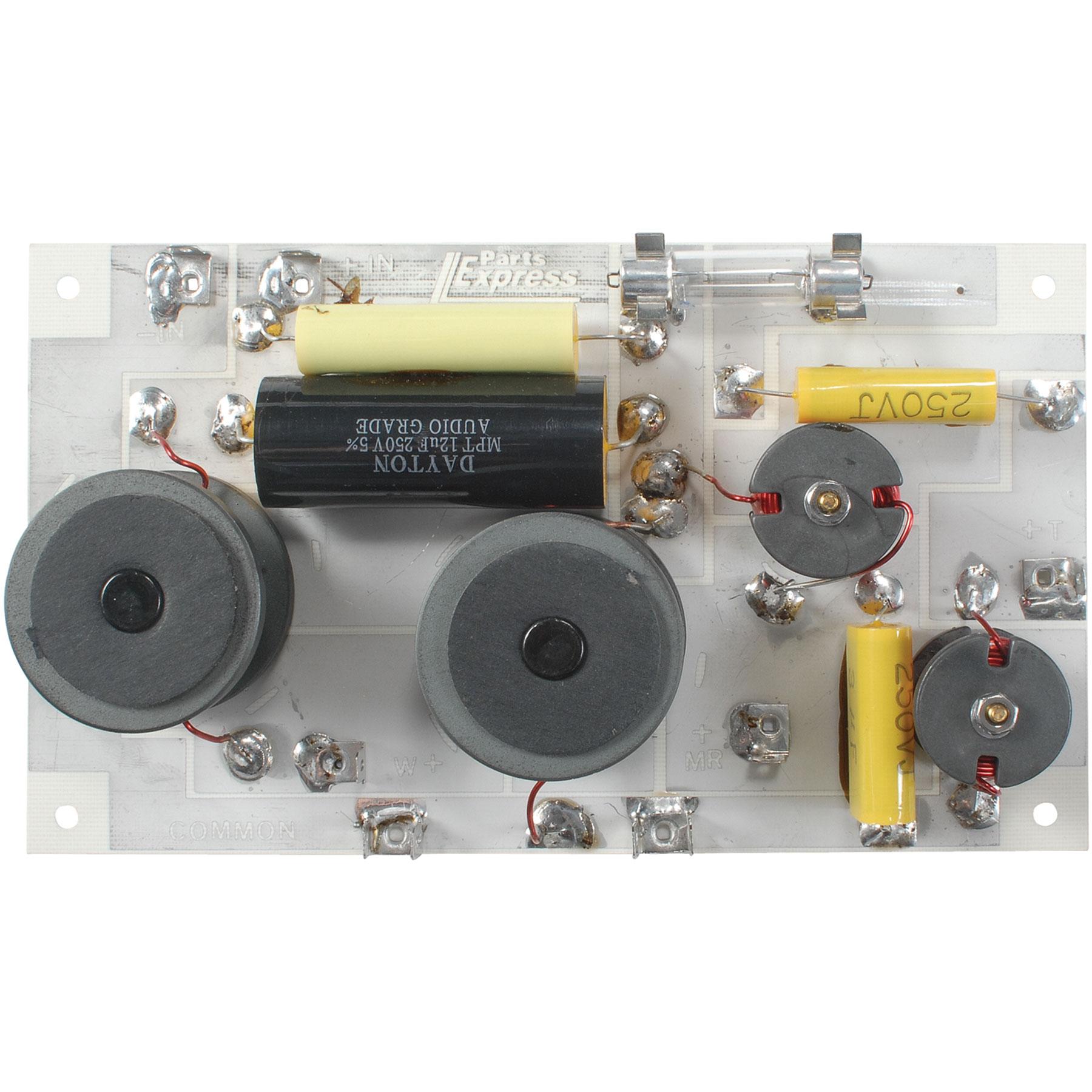 Speaker Crossover 3-Way 8 Ohm 800/4,500 Hz 200W - Speaker Crossover Wiring Diagram