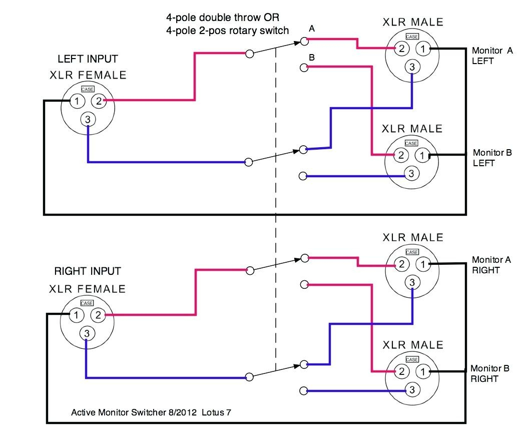 Speaker Selector Switch Wiring Diagram 8 In 7 | Wiring Diagram - Speaker Selector Switch Wiring Diagram