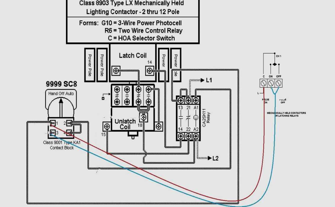 Square D Motor Starters Wiring Diagram
