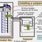 Square D 100 Amp Panel Wiring Diagram | Wiring Diagram   Square D 100 Amp Panel Wiring Diagram
