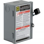 Square D 30 Amp 240 Volt 2 Pole Fused Indoor Light Duty Safety   30 Amp Disconnect Wiring Diagram