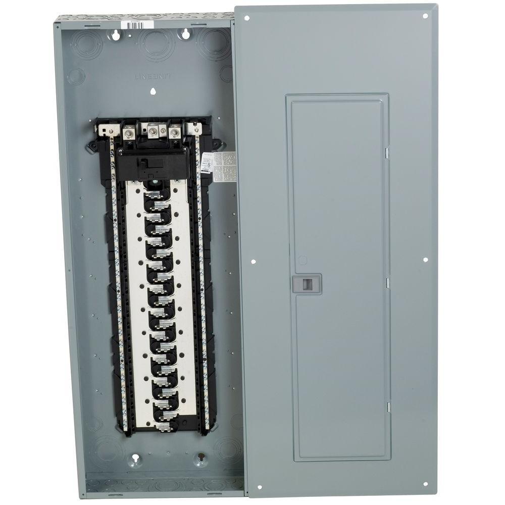 Square D Homeline 200 Amp 42-Space 84-Circuit Indoor Main Breaker - Homeline Load Center Wiring Diagram