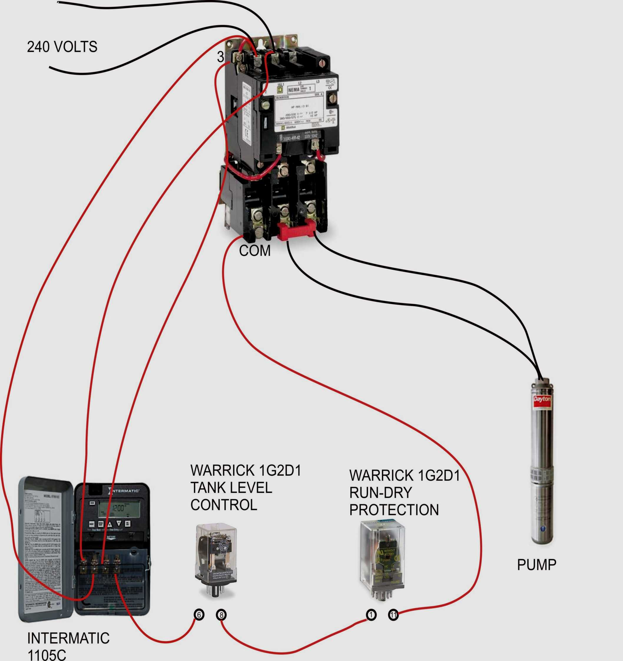 Square D Lighting Contactor Wiring Diagram | Wiring Diagram - Square D Motor Starter Wiring Diagram