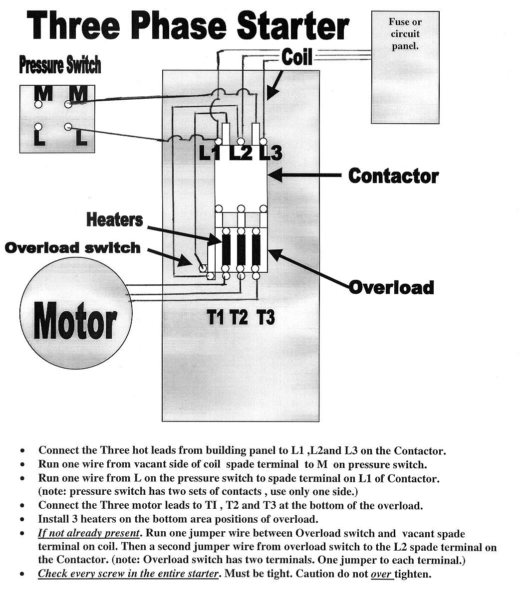 Square D Nema 1 Starter Wiring Diagram - Square D Motor Starter Wiring Diagram