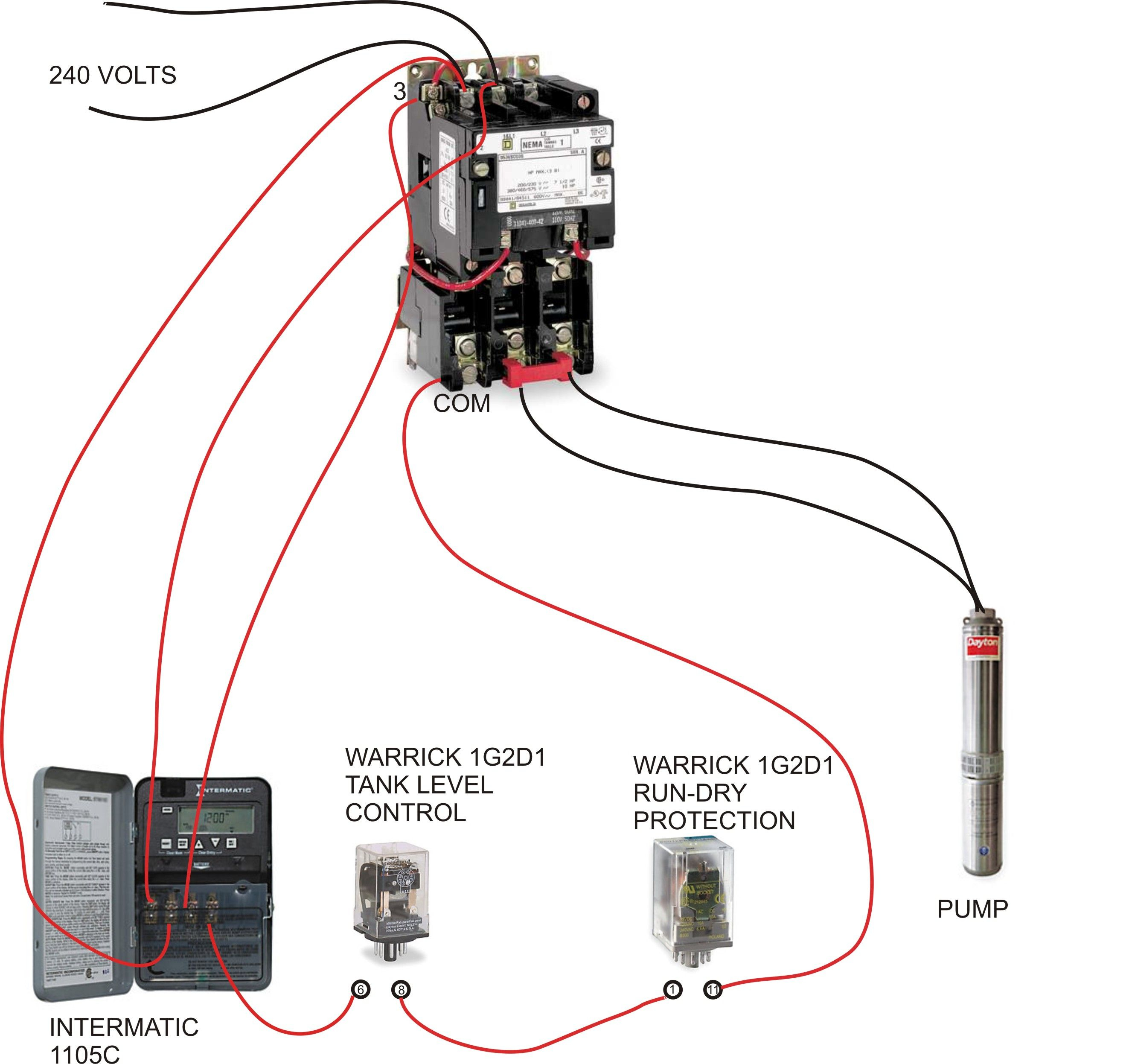 Square D Well Pump Pressure Switch Wiring Diagram With At To And - Pressure Switch Wiring Diagram