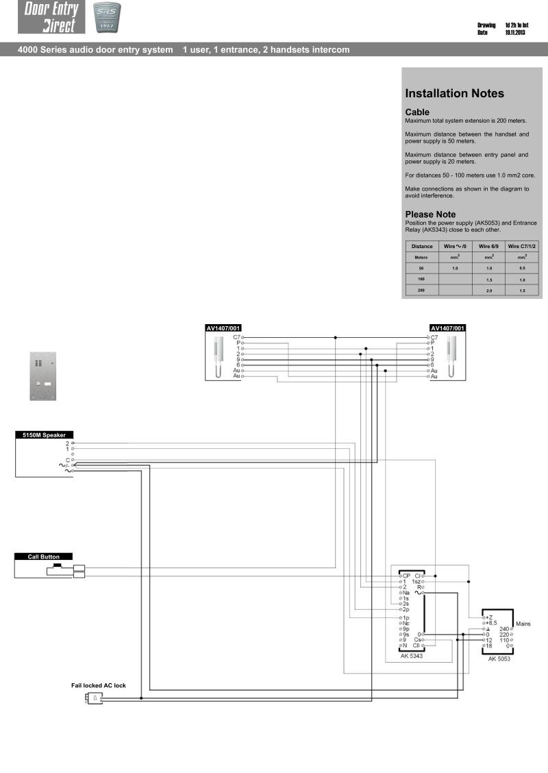 Srs Wiring Diagrams - Phone Wiring Diagram