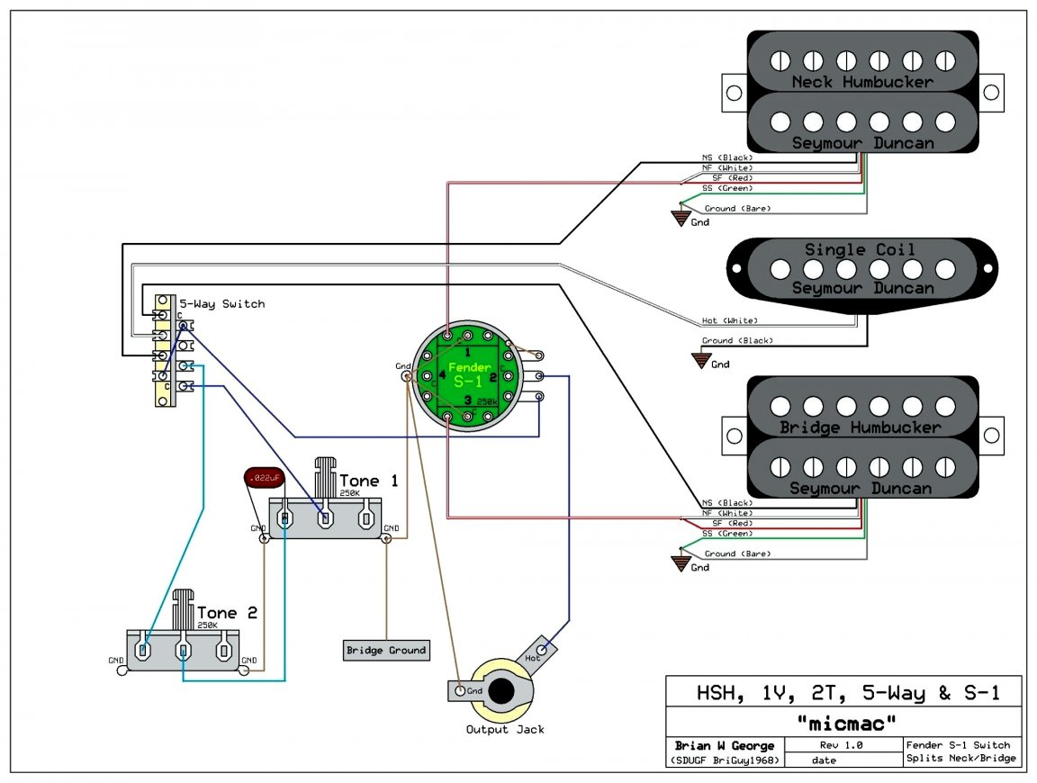 Sss Active B Pickup Wiring Diagram | Wiring Diagram - Prs Wiring Diagram