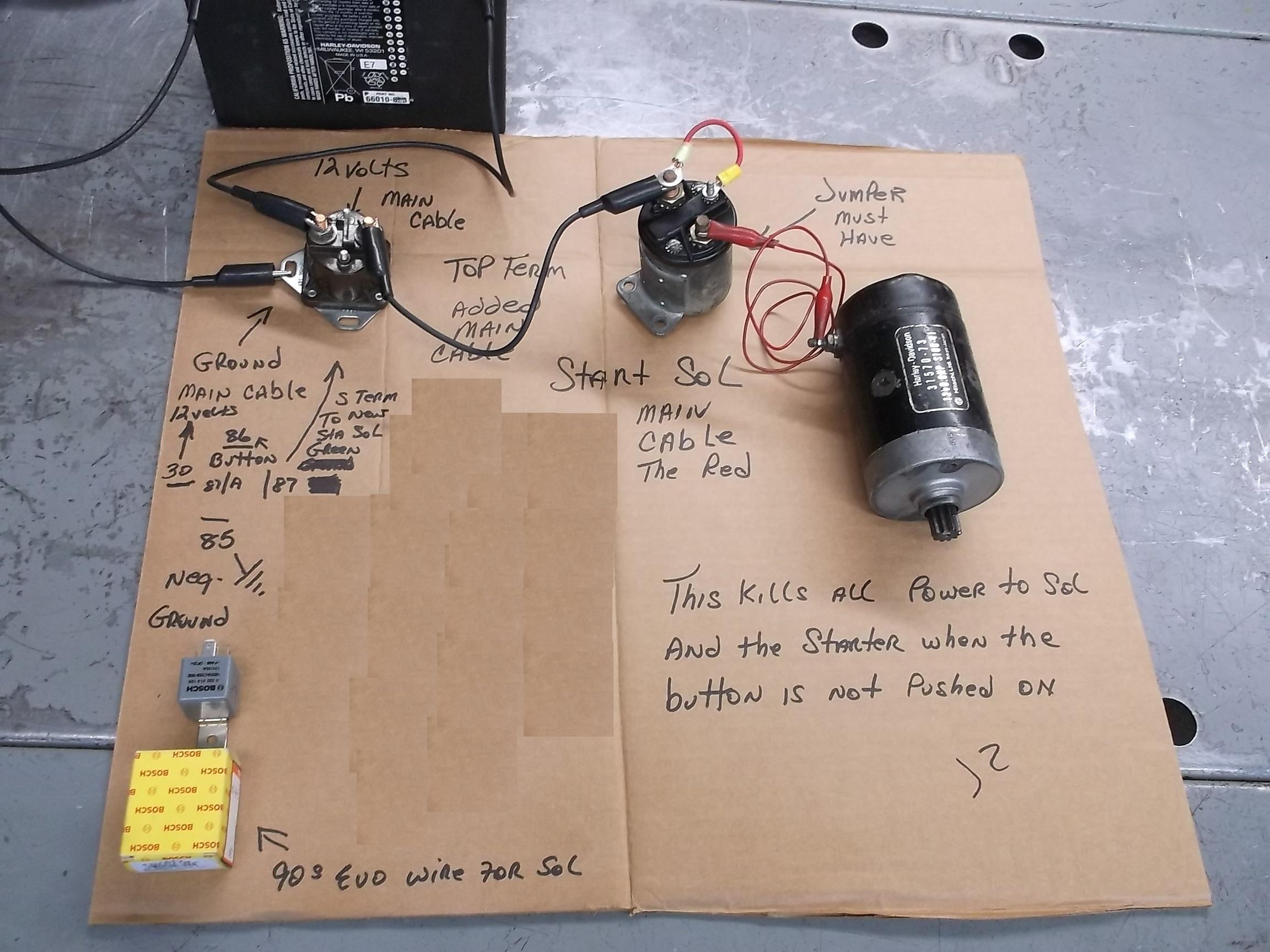 Starter Relay Wiring Diagram   Wiring Diagram - Starter Relay Wiring Diagram