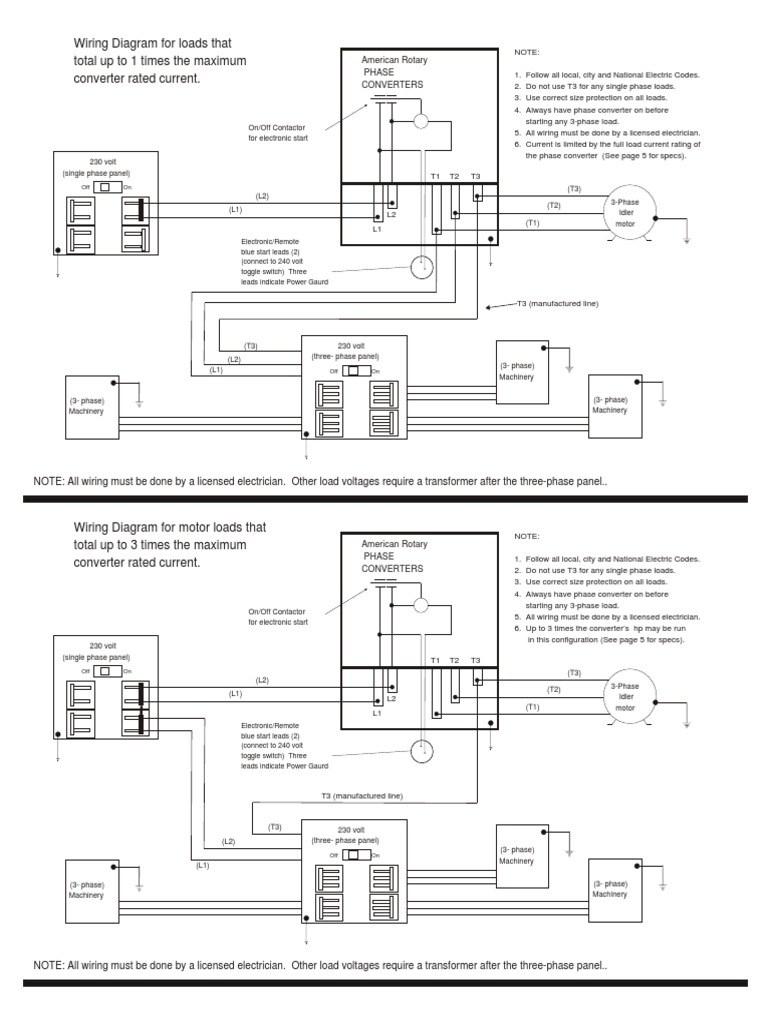 Static Phase Converter Wiring Diagram : 37 Wiring Diagram Images - Rotary Phase Converter Wiring Diagram