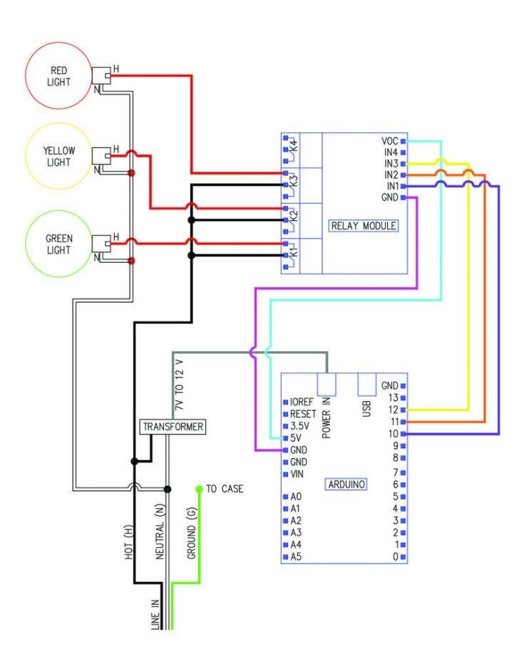 Stop/turn/tail Light Wiring Diagram