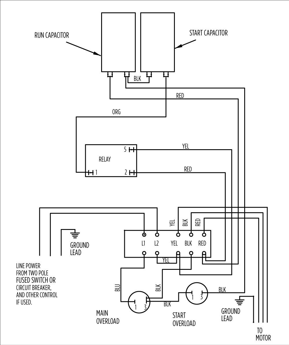 Submersible Well Pump Wiring Diagra - Wiring Diagram - Well Pump Wiring Diagram