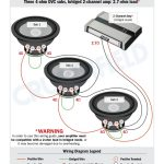 Subwoofer Wiring Diagrams Dual Voice Coil | Wiring Diagram   Dual Voice Coil Wiring Diagram