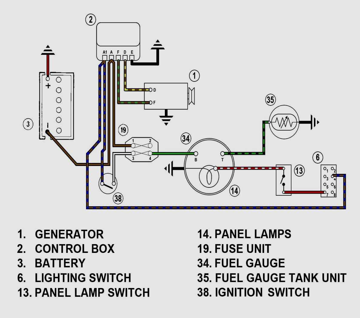 Diagram Sunpro Super Tach 2 Wiring Diagram