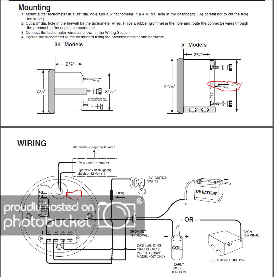 Sunpro Tach Wiring | Manual E-Books - Sunpro Tach Wiring Diagram