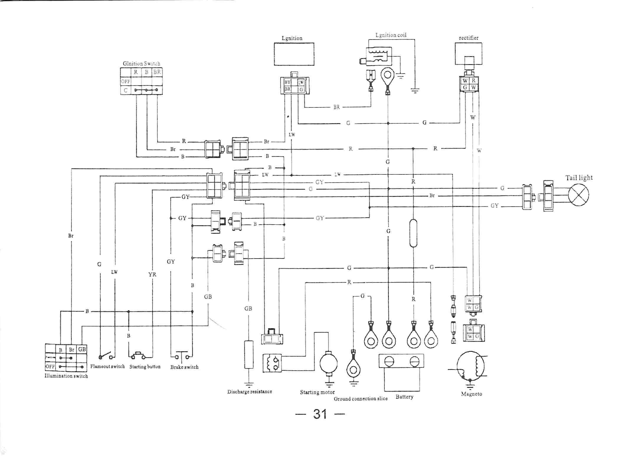 Suzuki Quadrunner 160 Key Wiring - Wiring Diagram Data - Chinese Quad Wiring Diagram