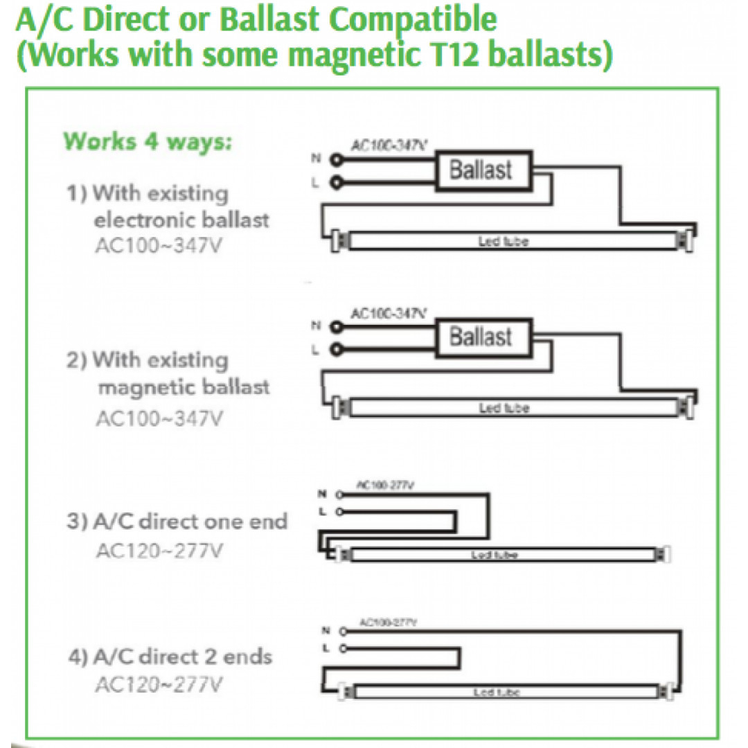 T12 Electronic Ballast Wiring Diagram | Manual E-Books - T12 Ballast Wiring Diagram