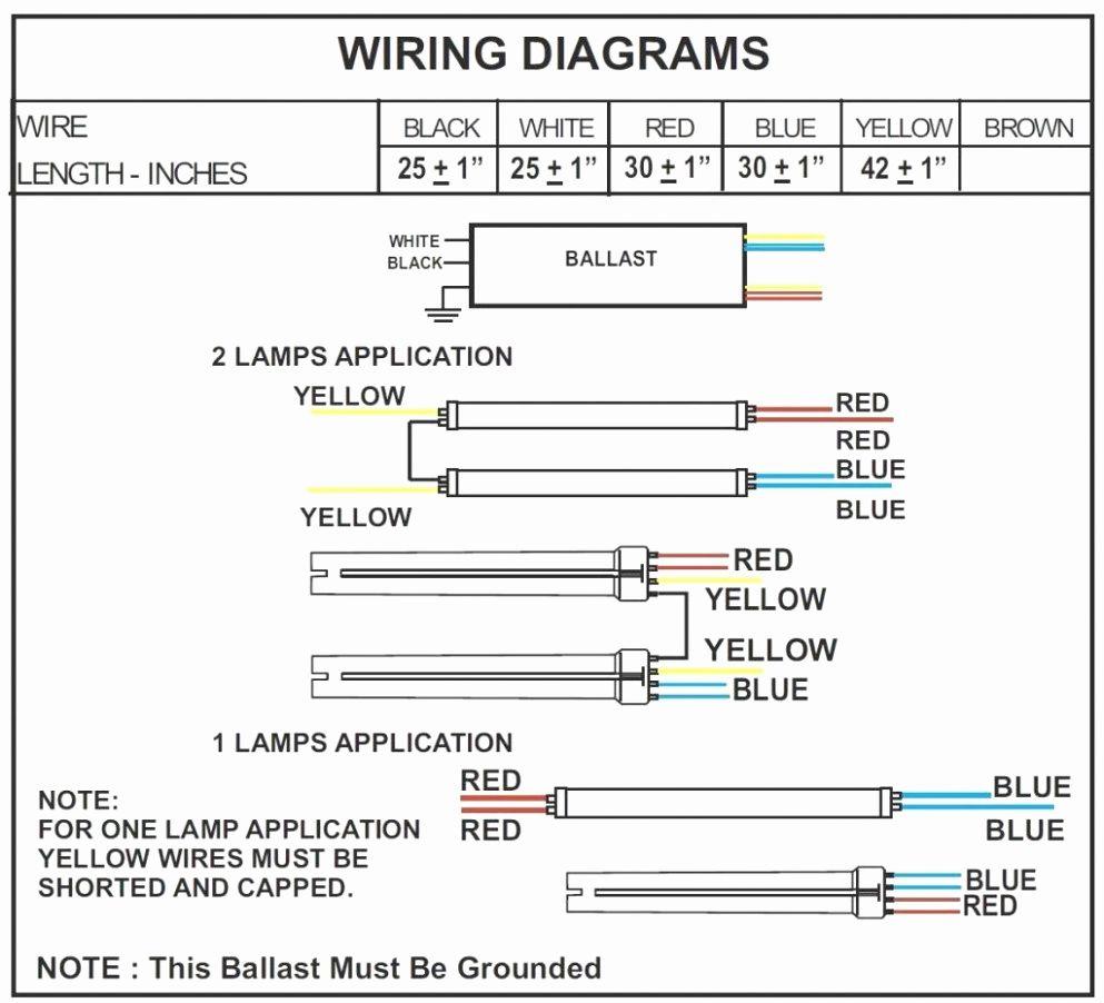 T8 Led Tube Wiring Diagram Fresh T8 Led Tube Light Circuit Diagram - Convert Fluorescent To Led Wiring Diagram