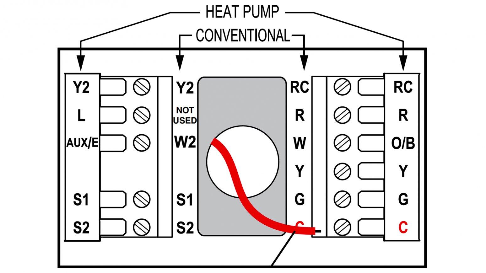 T834N Honeywell Thermostat Wiring Diagram - Wiring Diagram Schema - Gas Furnace Thermostat Wiring Diagram
