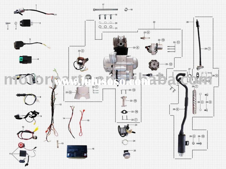 Tao 110 Wiring Diagram | Wiring Diagram - Taotao 125 Atv Wiring Diagram