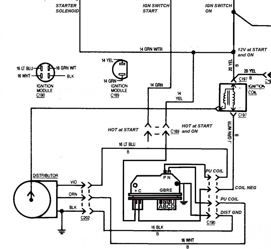 Tbi Ignition Coil Circuit Diagram - Schema Wiring Diagram - Ignition Coil Wiring Diagram