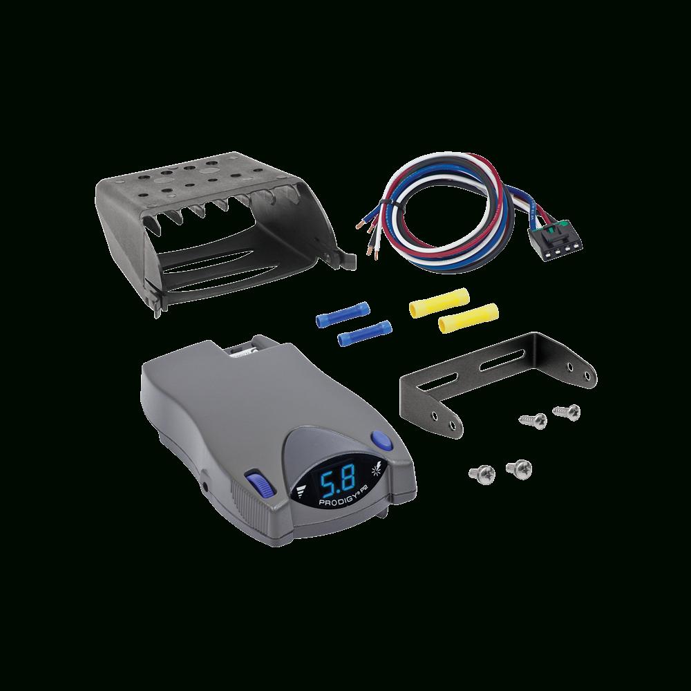 Tekonsha - Trailer Brake Control - Proportional - Prodigy Brake Controller Wiring Diagram
