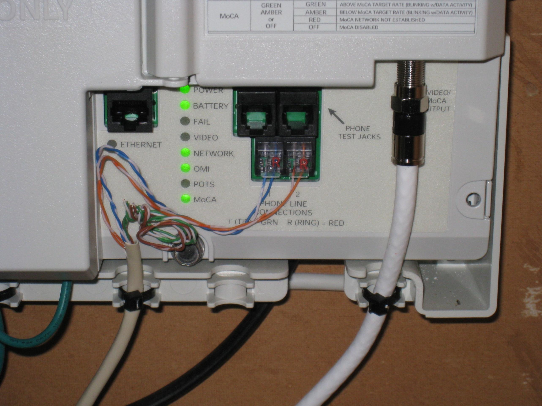 Telephone Network Interface Device Box Wiring Diagram   Wiring Diagram - Telephone Wiring Diagram Outside Box