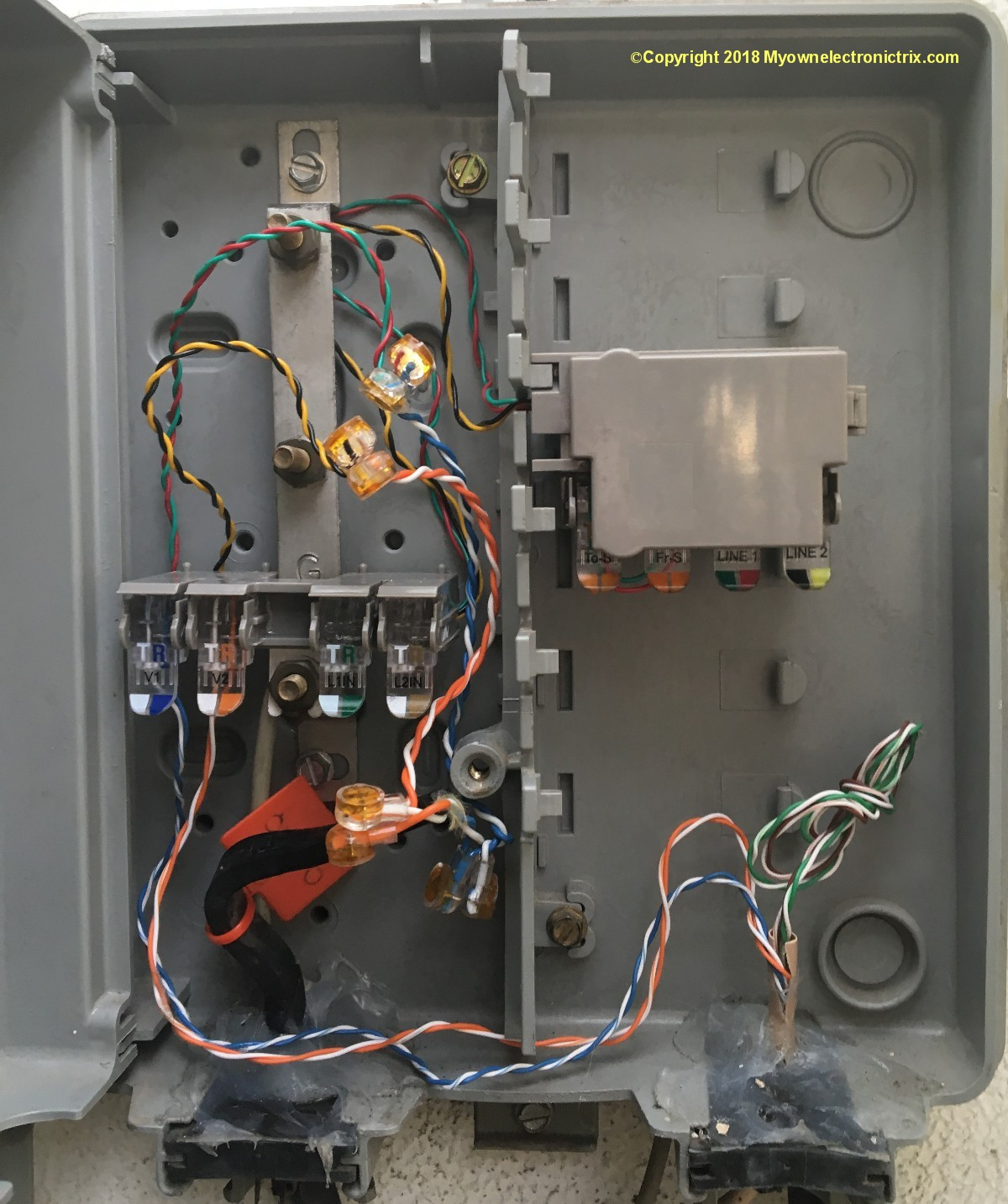 Telephone Wiring Diagram Outside Box   Wiring Diagram - Telephone Wiring Diagram Outside Box