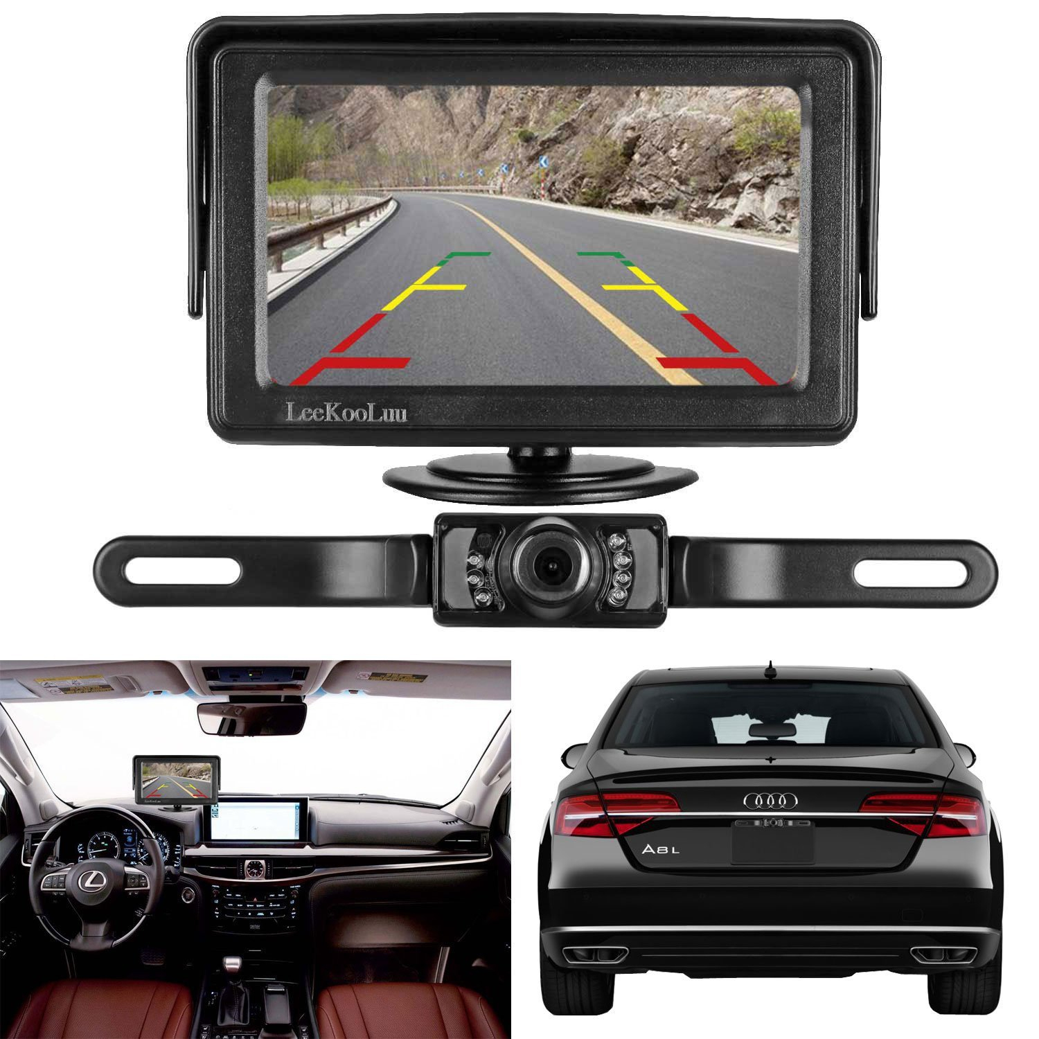 The 10 Best Backup Cameras To Buy 2019 - Auto Quarterly - Leekooluu Backup Camera Wiring Diagram