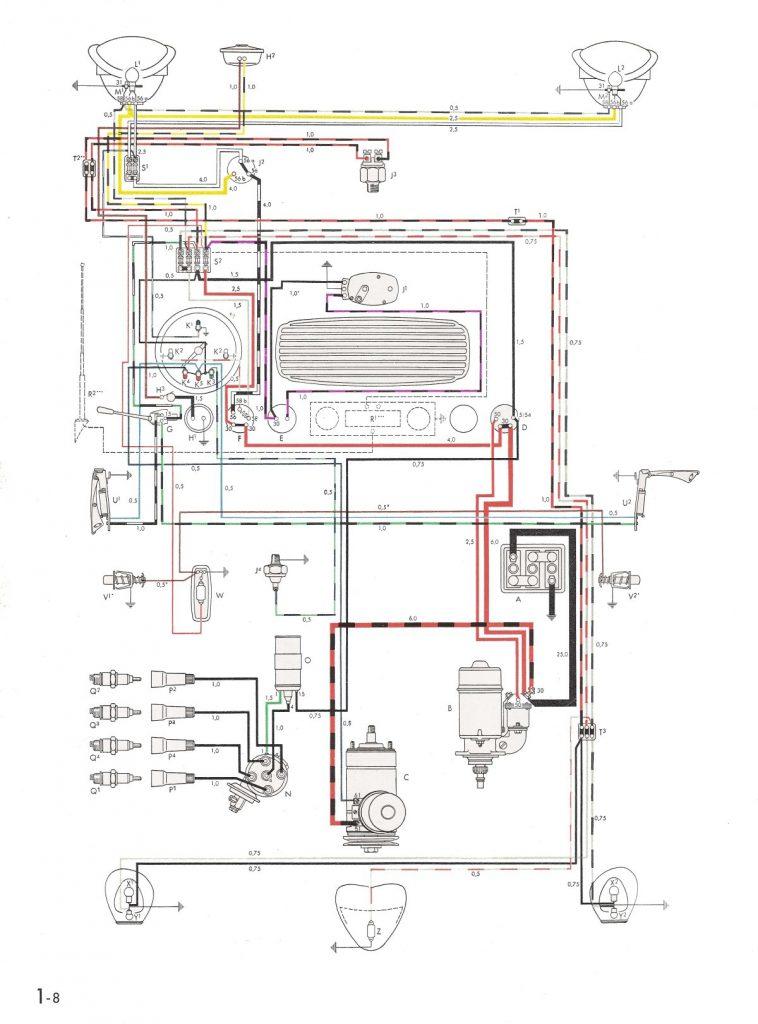 Thesamba    Type 1 Wiring Diagrams
