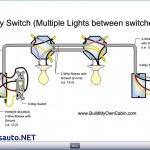 Three Way Light Switch Light Wiring Diagram For Two   Simple Wiring   3 Way Light Switch Wiring Diagram Multiple Lights