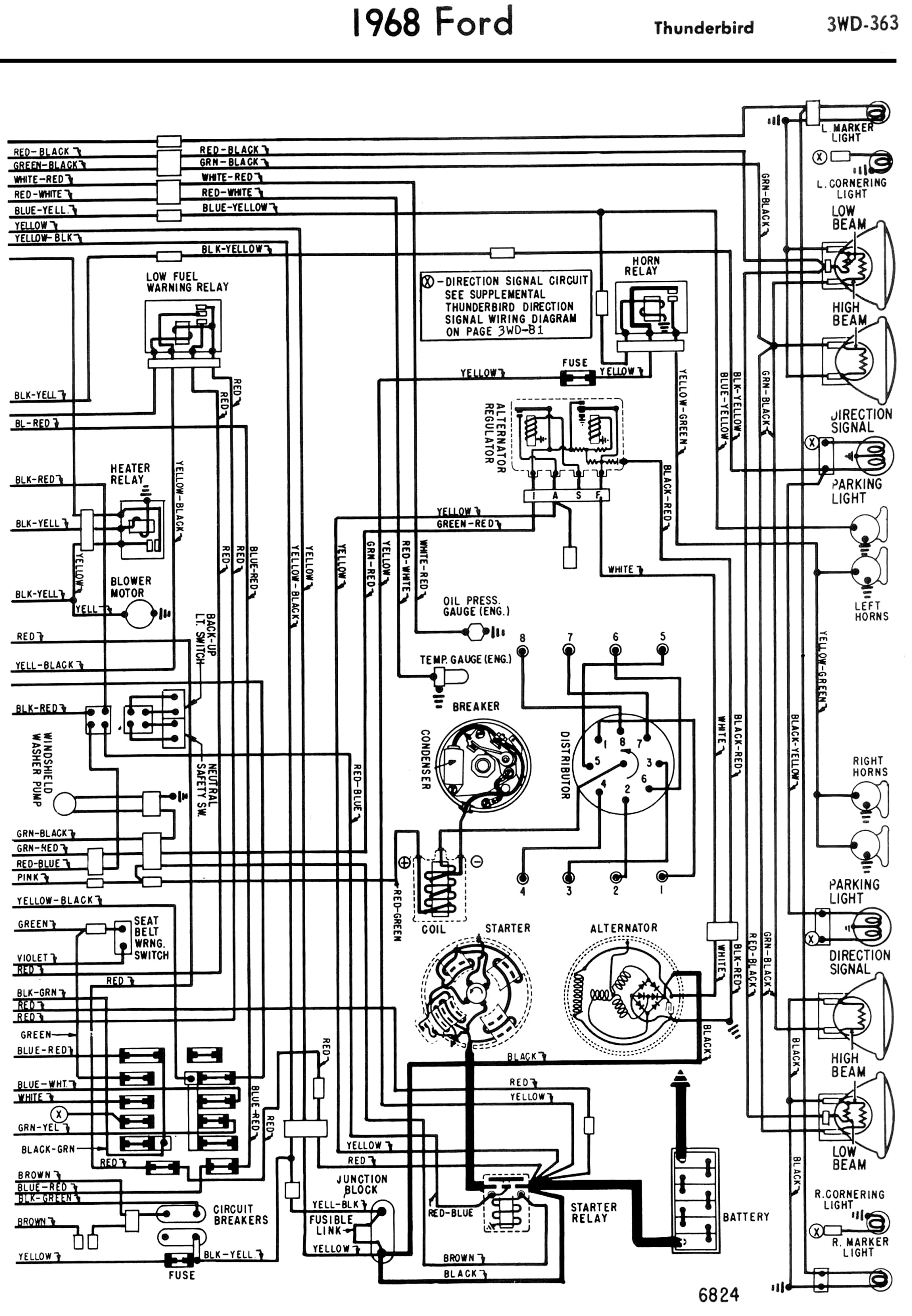 Thunderbird Tail Light Wiring - Wiring Diagrams Lose - Stop/turn/tail Light Wiring Diagram