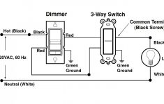 Single Pole Dimmer Switch Wiring Diagram