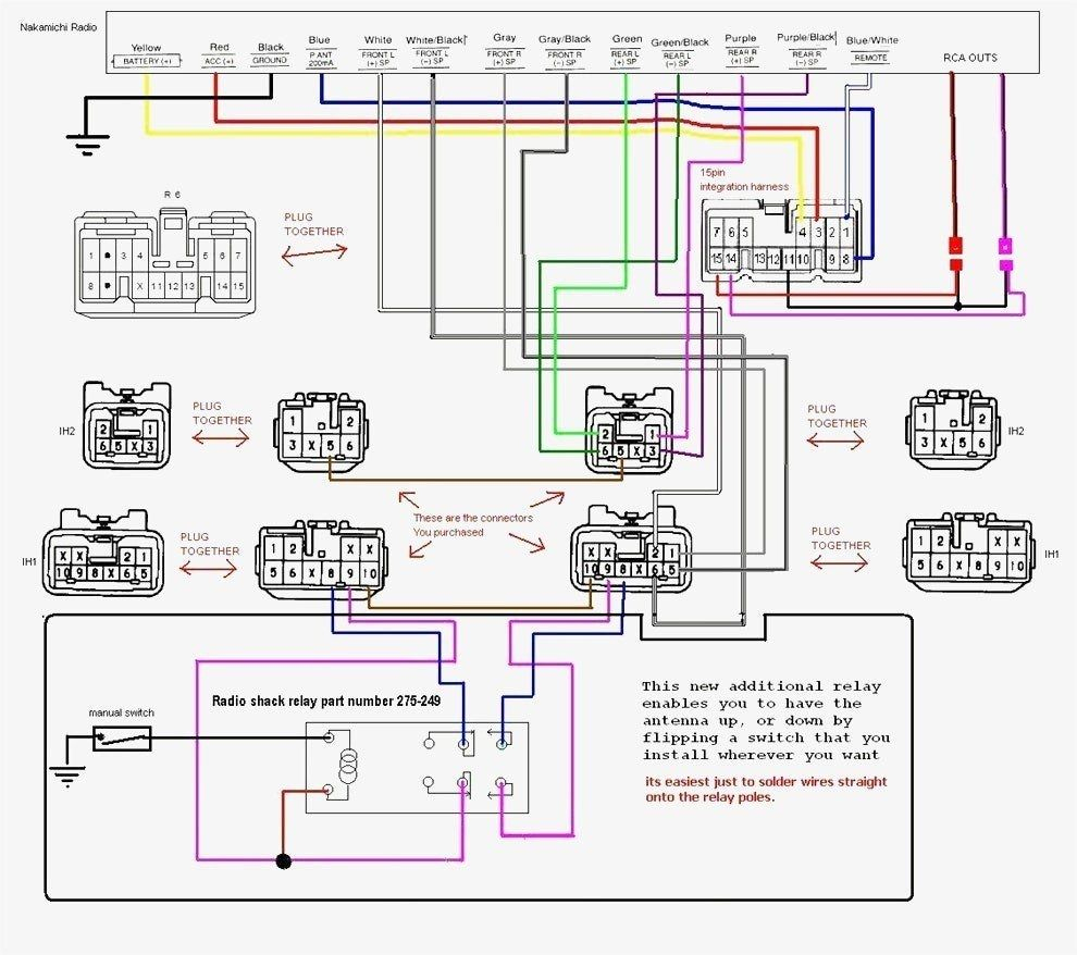 Toyota 86120 0C020 Wiring Diagram - Wiring Diagram • With Toyota - Toyota 86120 Wiring Diagram