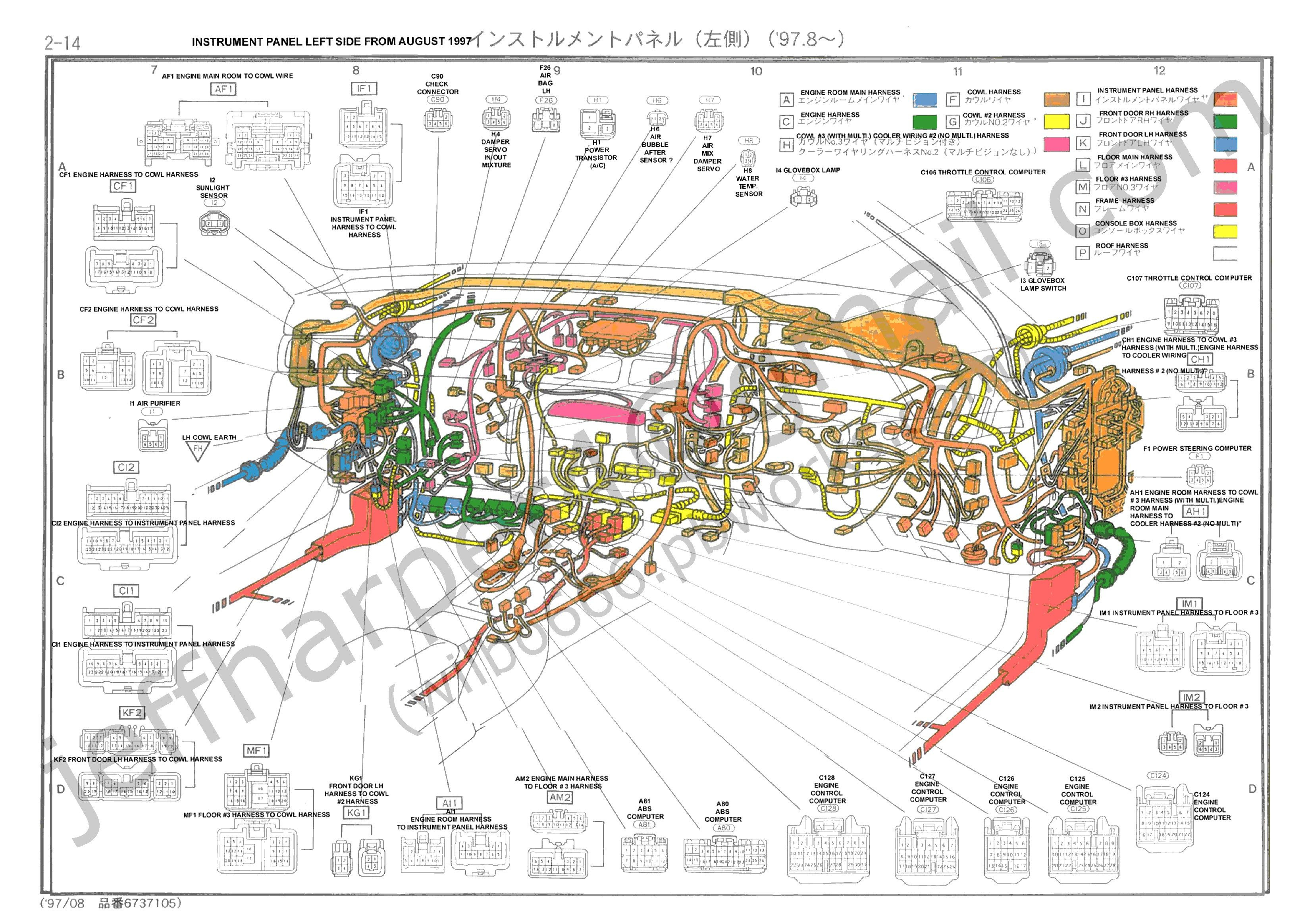 Toyota Wiring Diagram Color Codes Inspirational Toyota Starter - Wiring Diagram Color Codes