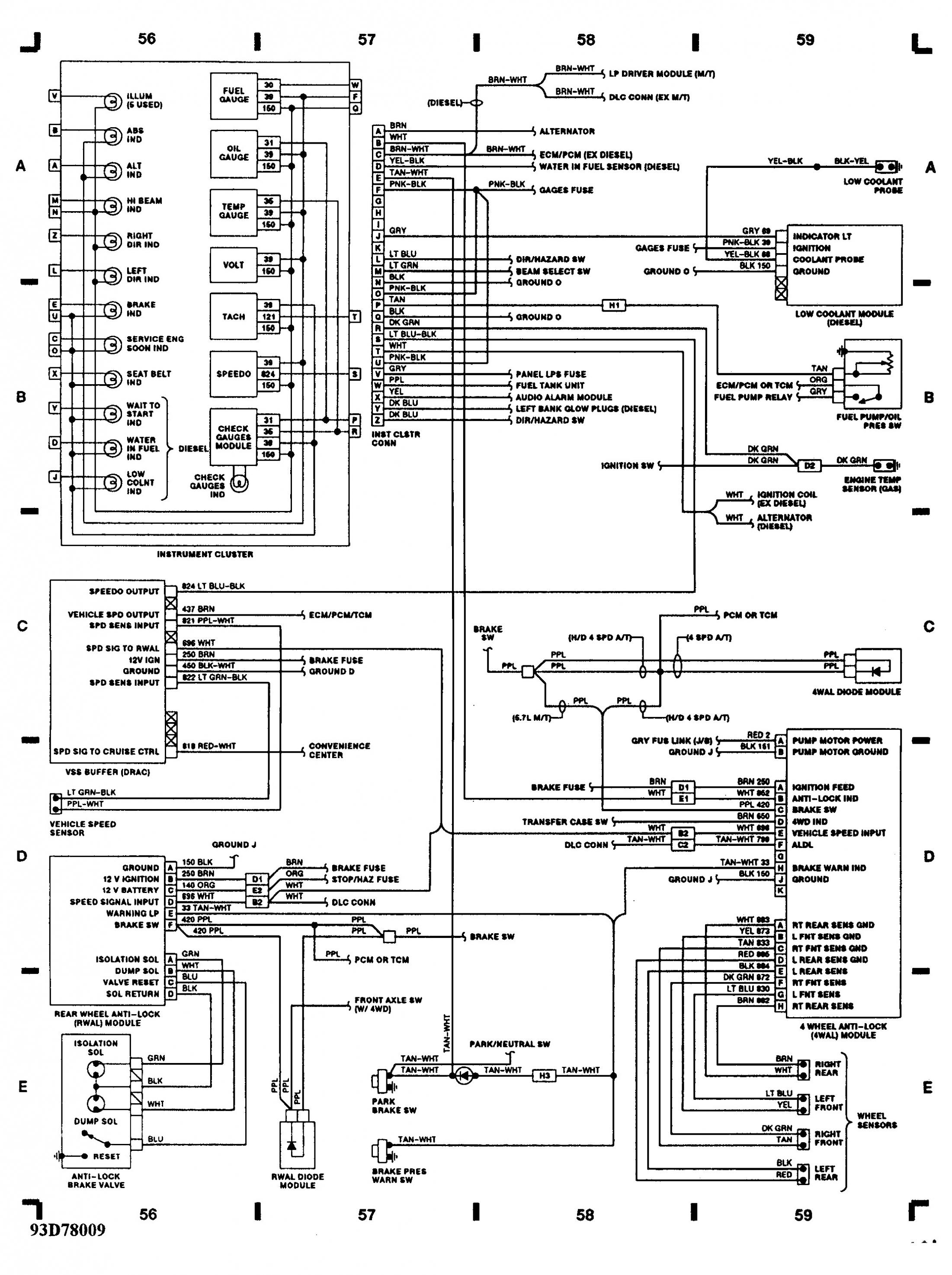 Tpi Gauges Wiring Harness Diagram   Wiring Library - 5.7 Vortec Wiring Harness Diagram
