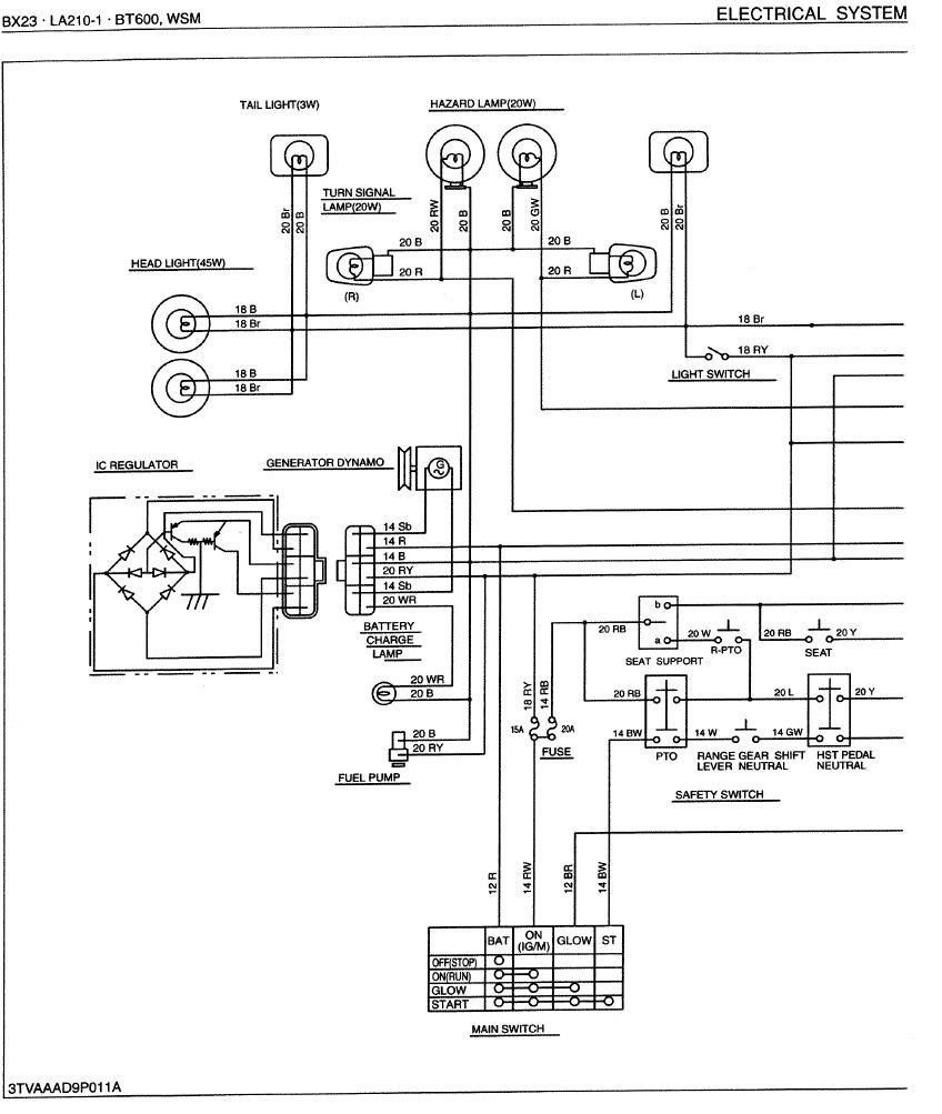 Tractor Voltage Regulator Wiring | Wiring Diagram Library - Kubota Voltage Regulator Wiring Diagram