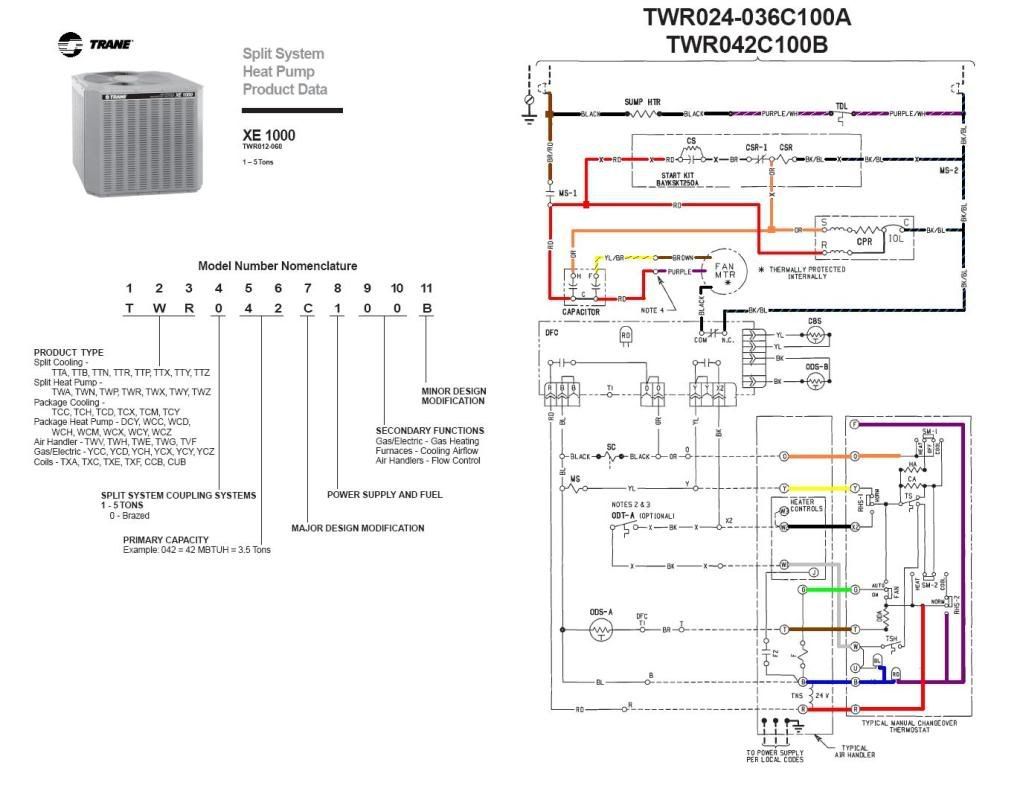 Trane Heat Pump Wire Diagram | Wiring Library - Trane Heat Pump Wiring Diagram